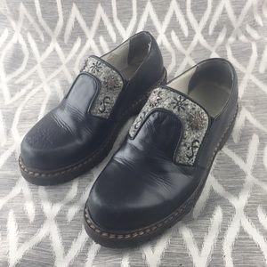 Geier Wally Black Shoes Size 37